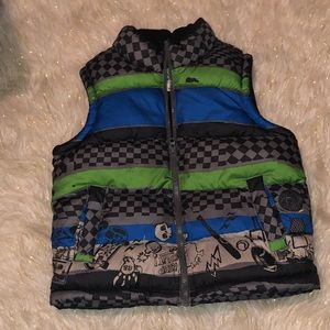 3/$25 Old Navy Fleece Lined Puffer Vest S